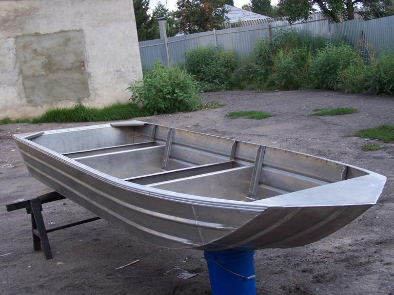 как построить алюминиевую лодку
